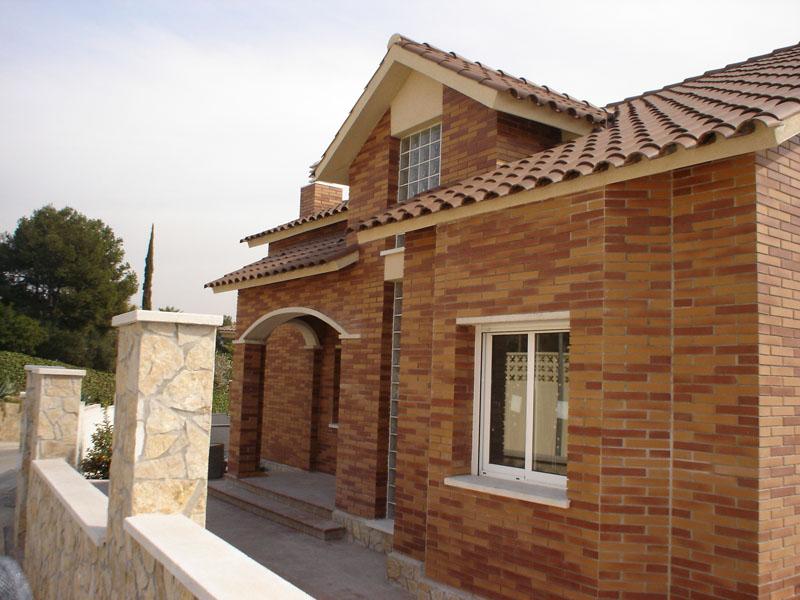 Vicaba construcciones acabados de fachada - Piedra artificial para fachadas ...